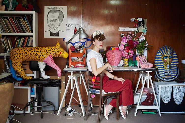 Rosy Nicholas Hackney Studio