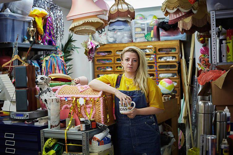 Anna Lomax Hackney Studio