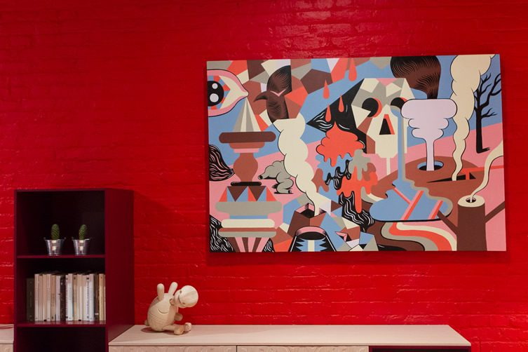 Jeremyville at Cappellini — New York