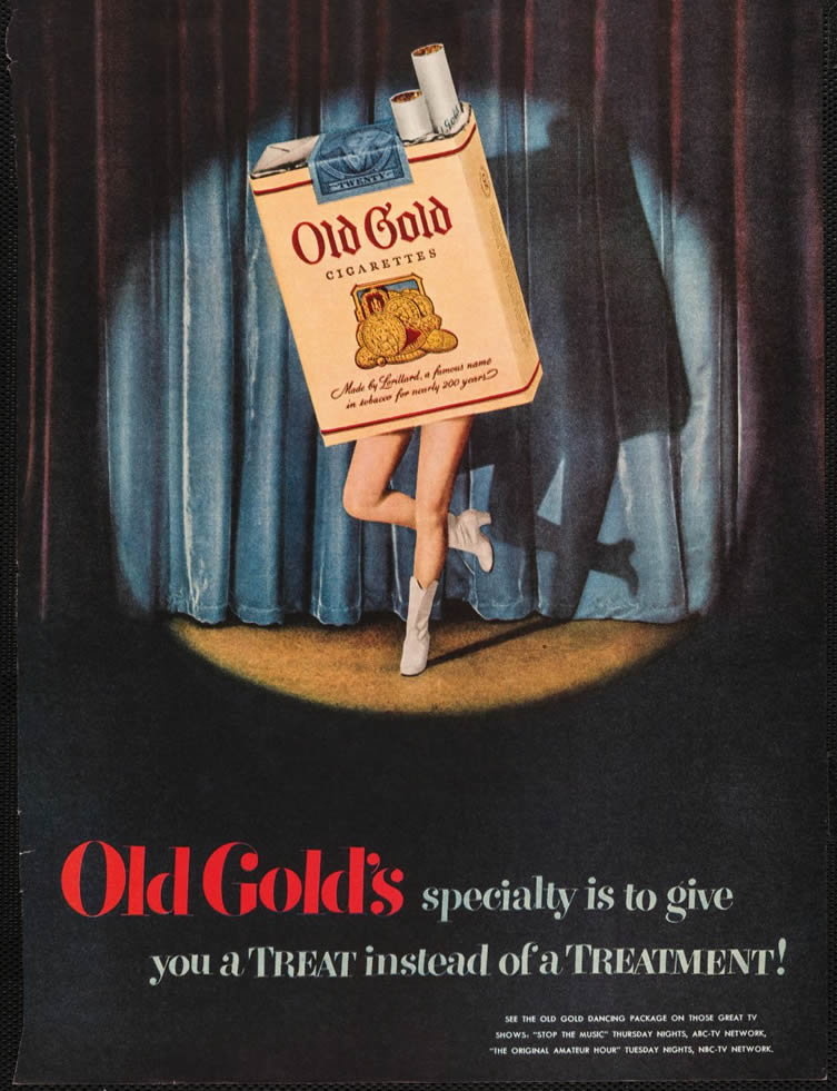 Old Gold, 1950