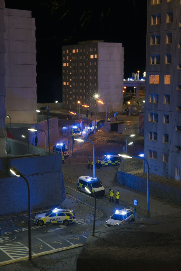 Jimmy Cauty's Model Village: The Aftermath Dislocation Principle