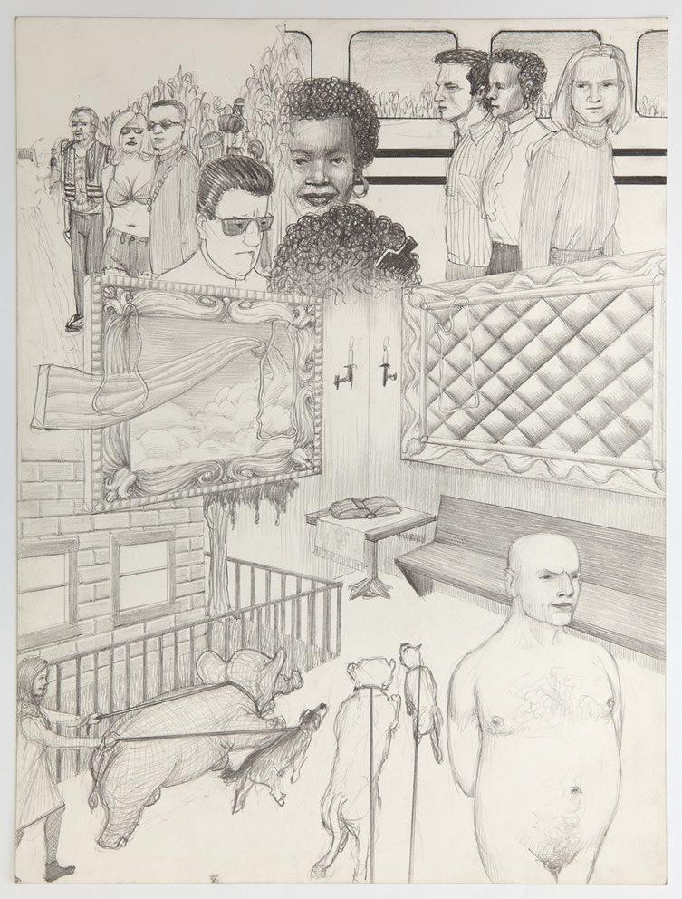 Jim Shaw, Dream Drawing