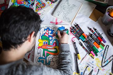 Jon Burgerman Interview