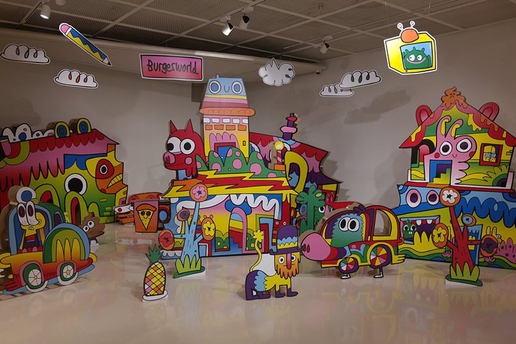 Burgerworld Exhibition