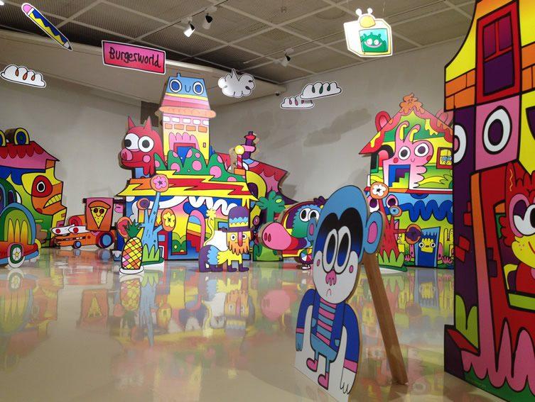 Burgerworld Exhibition