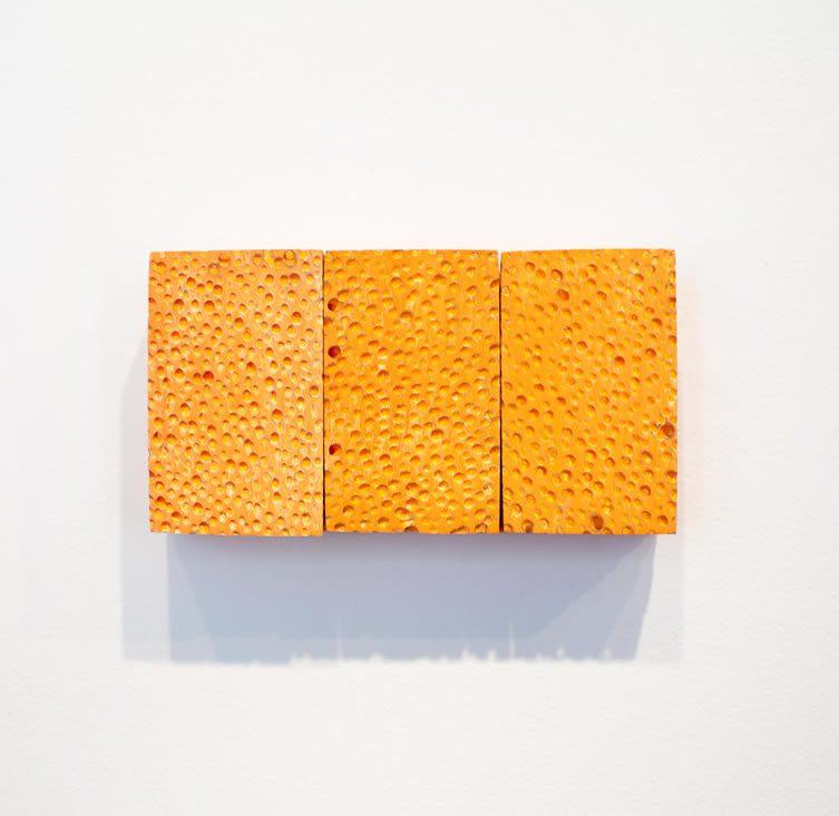 George Stoll. Untitled (9 pack orange), 1998