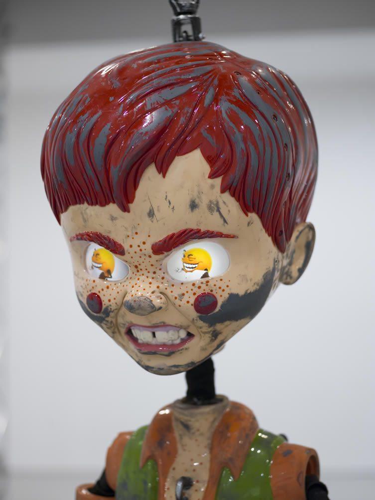 Colored Sculpture
