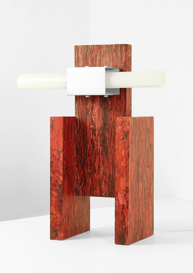 Jorge Penadés, Structural Skin Table Lamps
