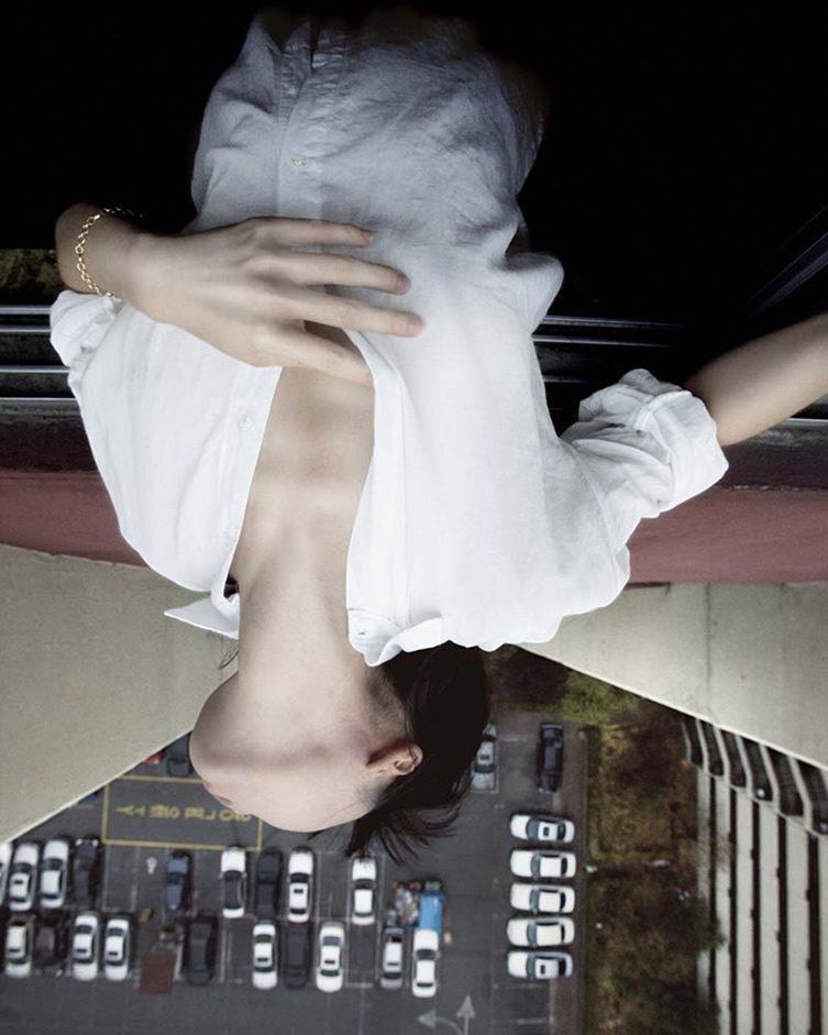 Jun Ahn — Self-Portrait at Christophe Guye Galerie, Zurich