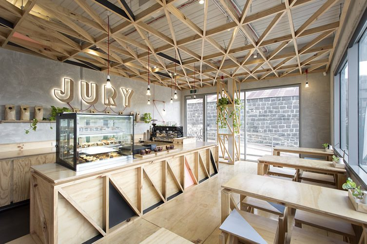 Jury Cafe Pentridge Village, Melbourne