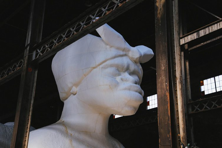 Kara Walker — A Subtlety at Domino Sugar Factory, Brooklyn