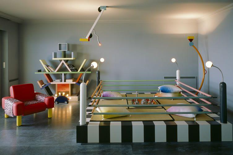 Karl Lagerfeld Memphis Apartment Monaco 1980s