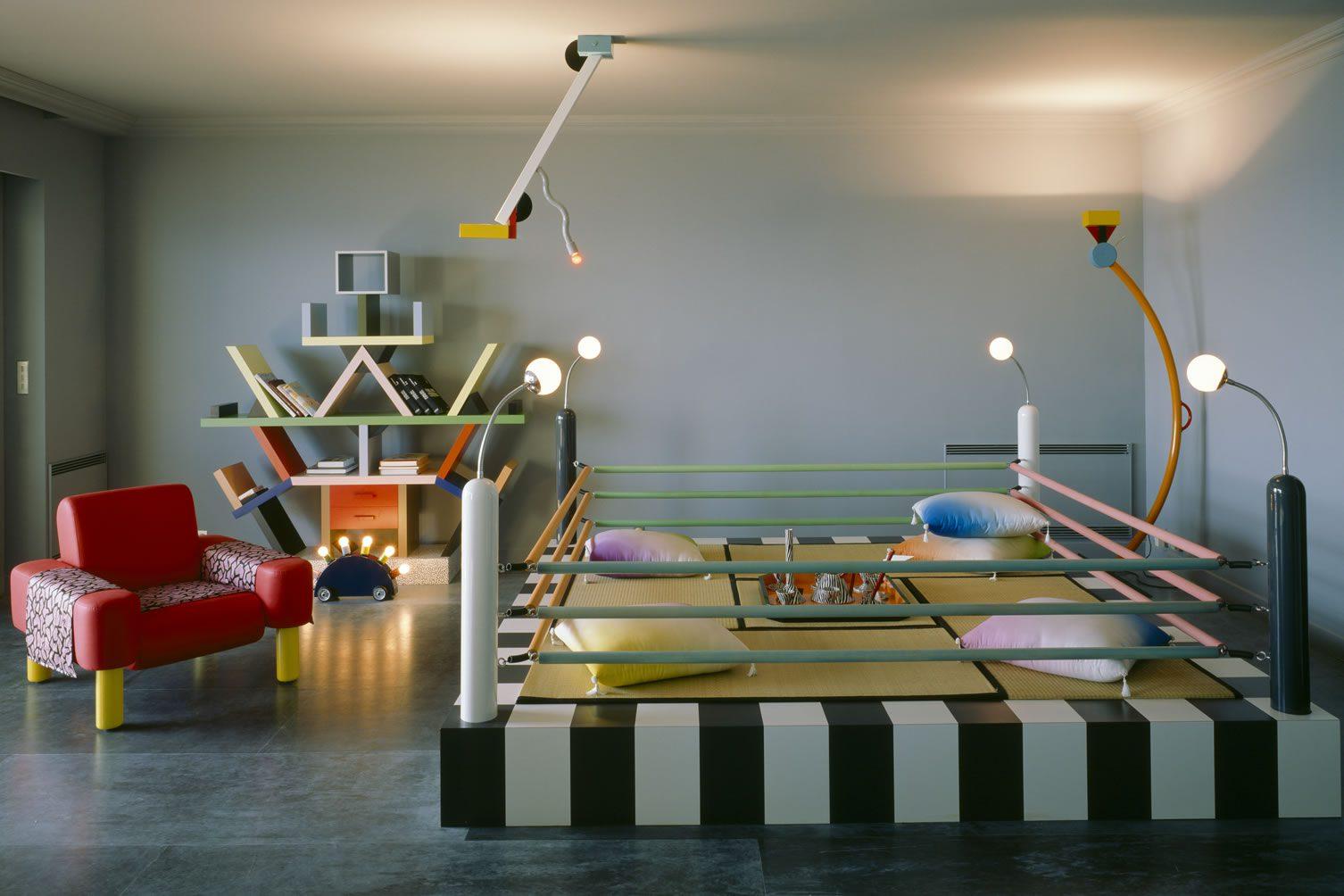 Karl Lagerfeld Memphis Apartment Monaco 1980s,Professional Background Facebook Cover Photo Design