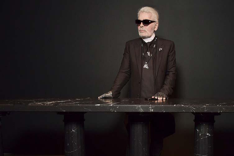 Karl Lagerfeld © Stephane Feugere