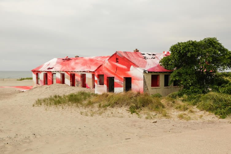 Rockaway! featuring site-specific installation by Katharina Grosse