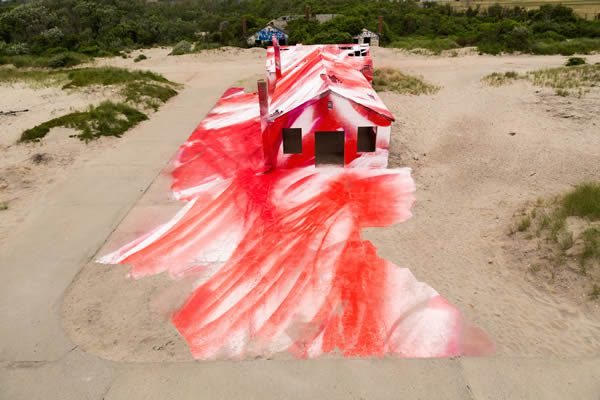 MoMA PS1 presents Rockaway! featuring site-specific installation by Katharina Grosse