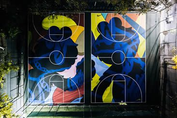 New York Made: Stanton Street Courts by Kaws