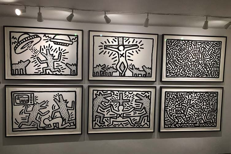 Keith Haring, ICON Exhibition at RHODES Contemporary Art London