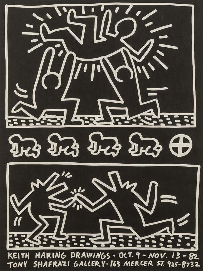 Tony Shafrazi Gallery Poster, 1982