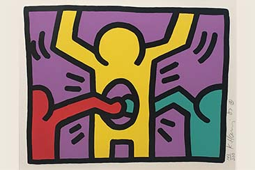 Keith Haring, ICON