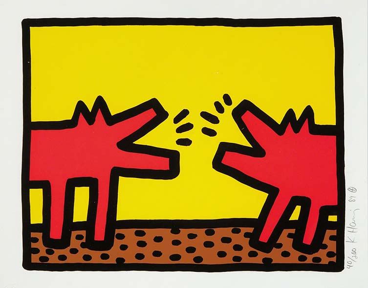 Barking Dogs (Pop Shop IV), 1989