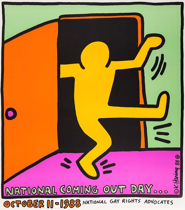 First National Coming Out Day Poster, 1988