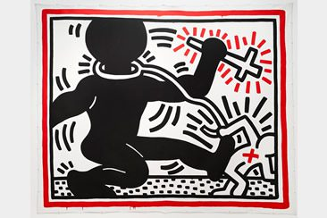 Keith Haring: The Political Line at de Young Museum, San Francisco