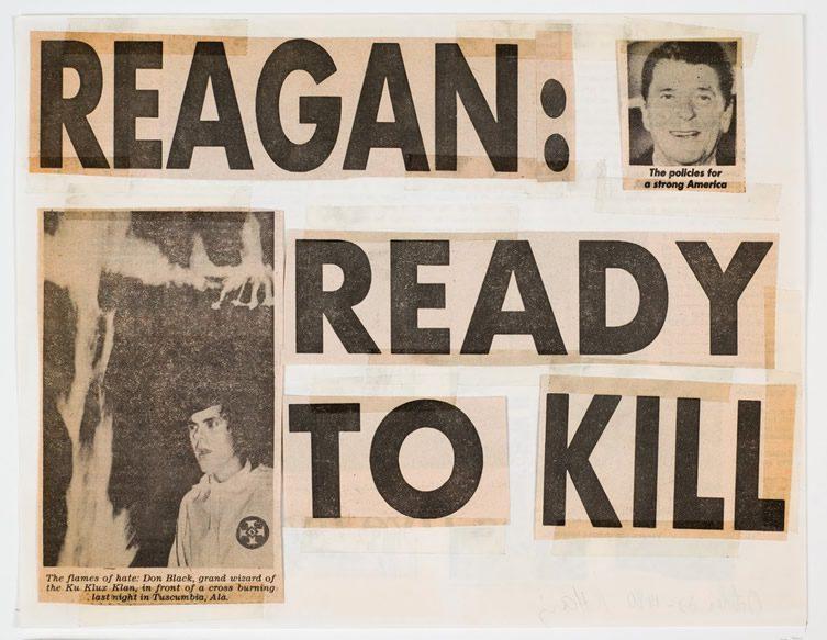 Reagan: Ready to Kill, 1980