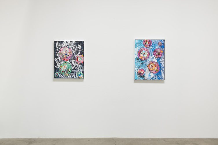 Kenny Scharf Born Again Honor Fraser Gallery Los Angeles