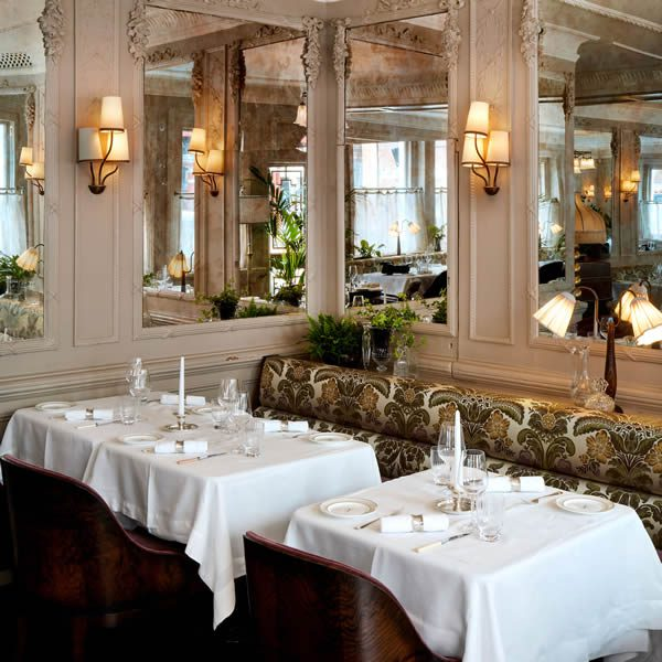 The storied dining room goes back to its roots, and holds all the hallmarks of its colourful history