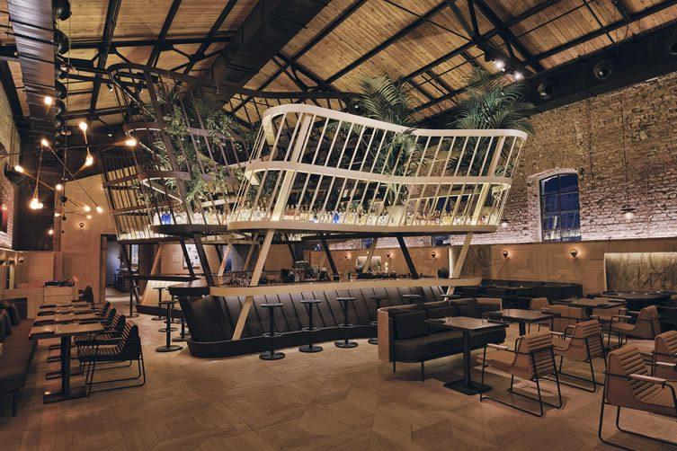Kilimanjaro istanbul bomontiada bomonti historic brewery - Deco interieur style industriel ...