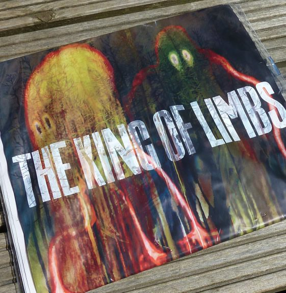 Radiohead's King of Limbs Newspaper Album