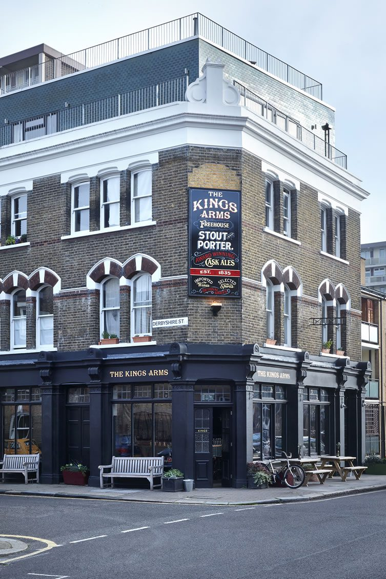 The Kings Arms Bethnal Green London