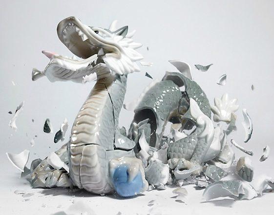 Martin Klimas' Ceramic Explosions
