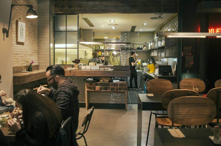 Koku Kitchen Buns Born Barcelona
