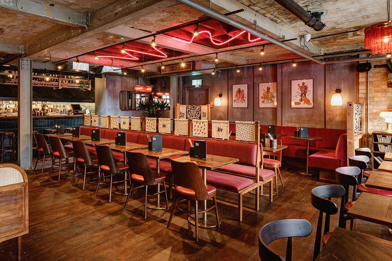 Korean Dinner Party Soho London Restaurant Designed by A-nrd studio
