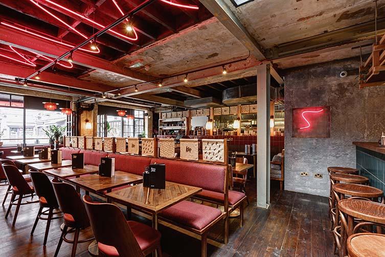 London Restaurant Designed by A-nrd studio