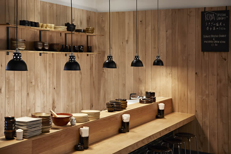 Koya City London, Bloomberg Arcade Koya Bar Udon Noodle Restaurant