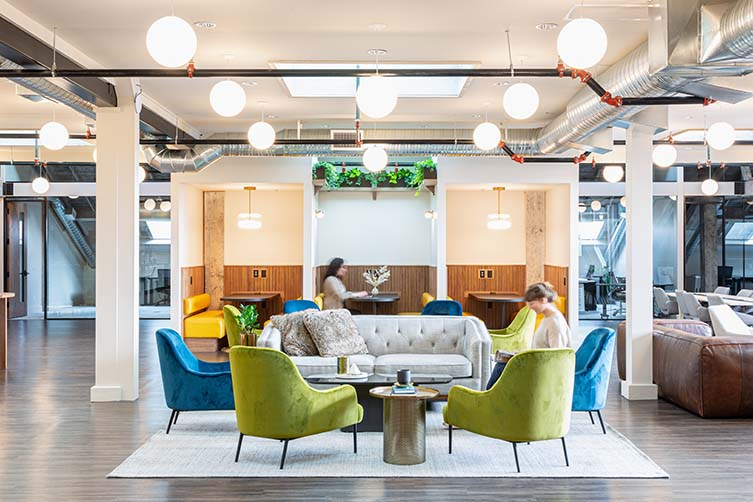 KWENCH Victoria, British Columbia Coworking Space by Hansenbuilt Design