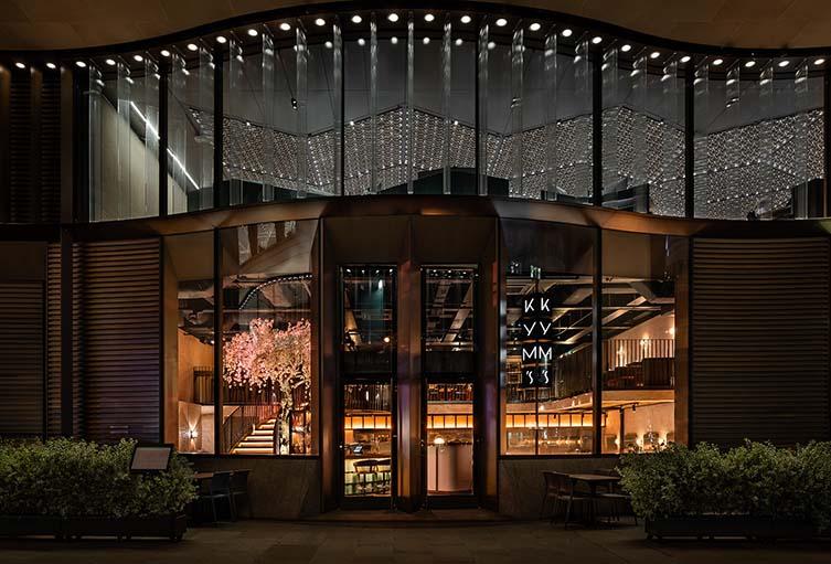 Kym's London, Chinese Restaurant Bloomberg Arcade, London City
