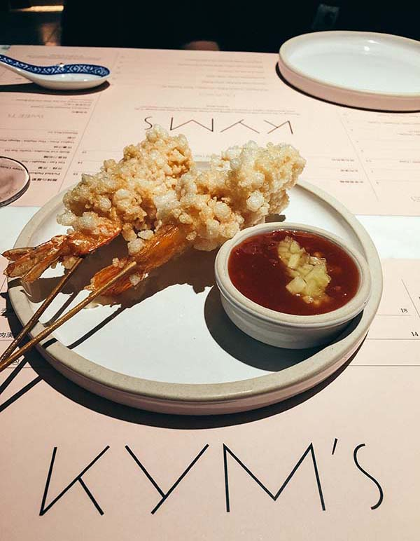 Kym's London, Chinese Restaurant Bloomberg Arcade, London City