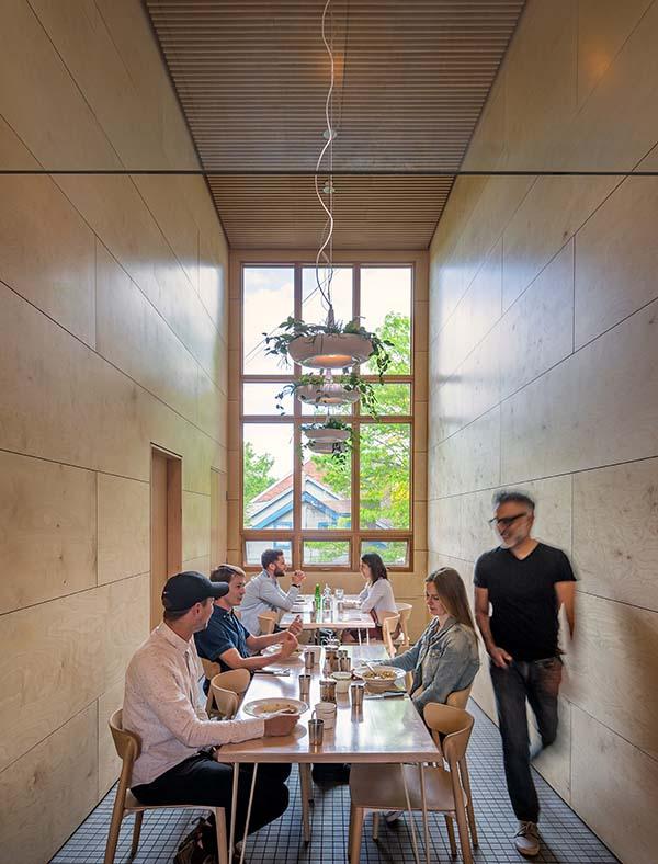 Lady Marmalade Toronto, Broadview Avenue Café Designed by Omar Gandhi/SvN