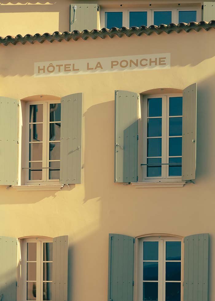 La Ponche Hotel Restaurant Saint Tropez, by Fabrizio Casiraghi