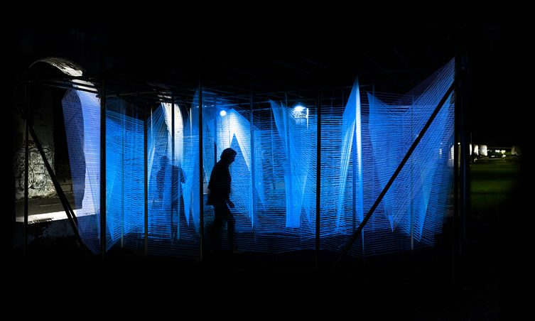 Lasermaze by George King Architects at Detroit Design Festival
