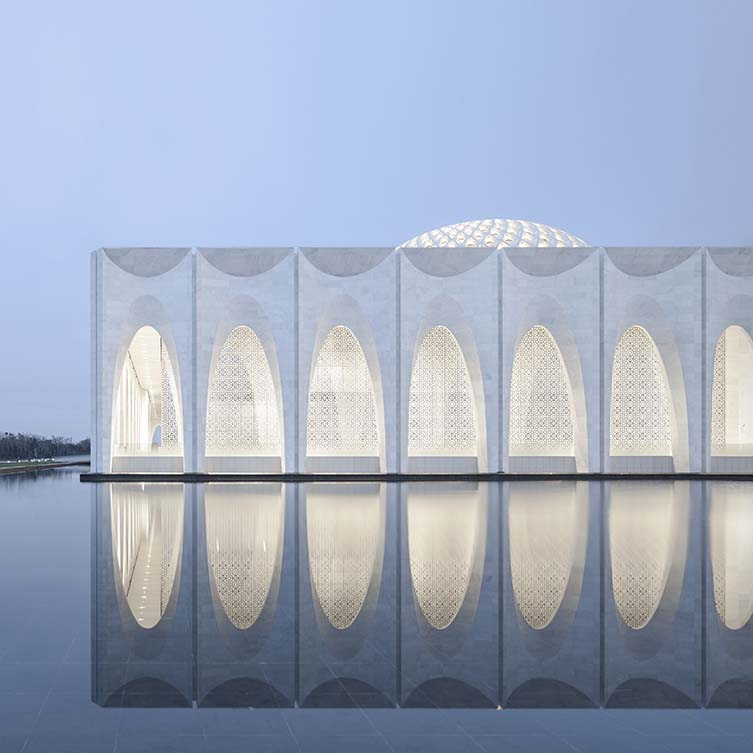 Da Chang Muslim Cultural Center Cultural by Hejingtang Studio, Winner in Architecture, Building and Structure Design Category