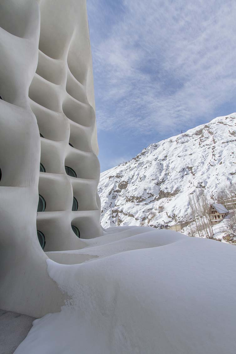 Barin Ski Resort by Ryra Design Studio, Winner in Architecture, Building and Structure Design Category