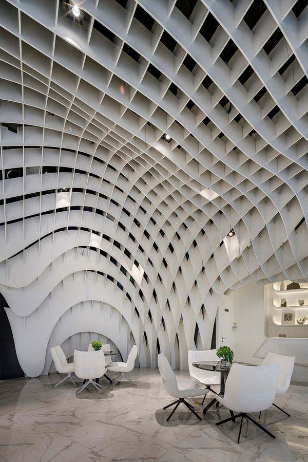 Skynet Display Space by Kris Lin, Winner in Interior Space and Exhibition Design Category