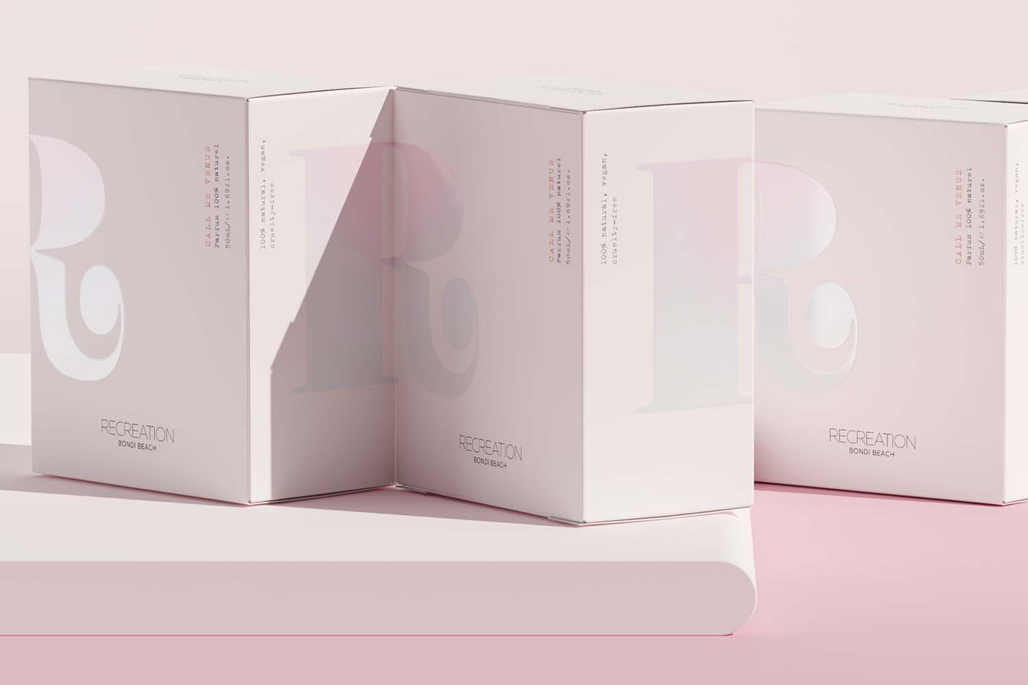 Recreation Bondi Beach Natural Fragrances by Angela Spindler is Winner in Packaging Design Category, 2018 - 2019.
