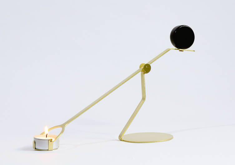 Laura Bin, Rising Balance Candleholder
