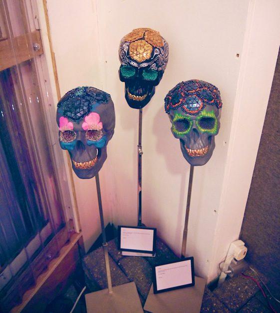 Lauren Baker Skull Art